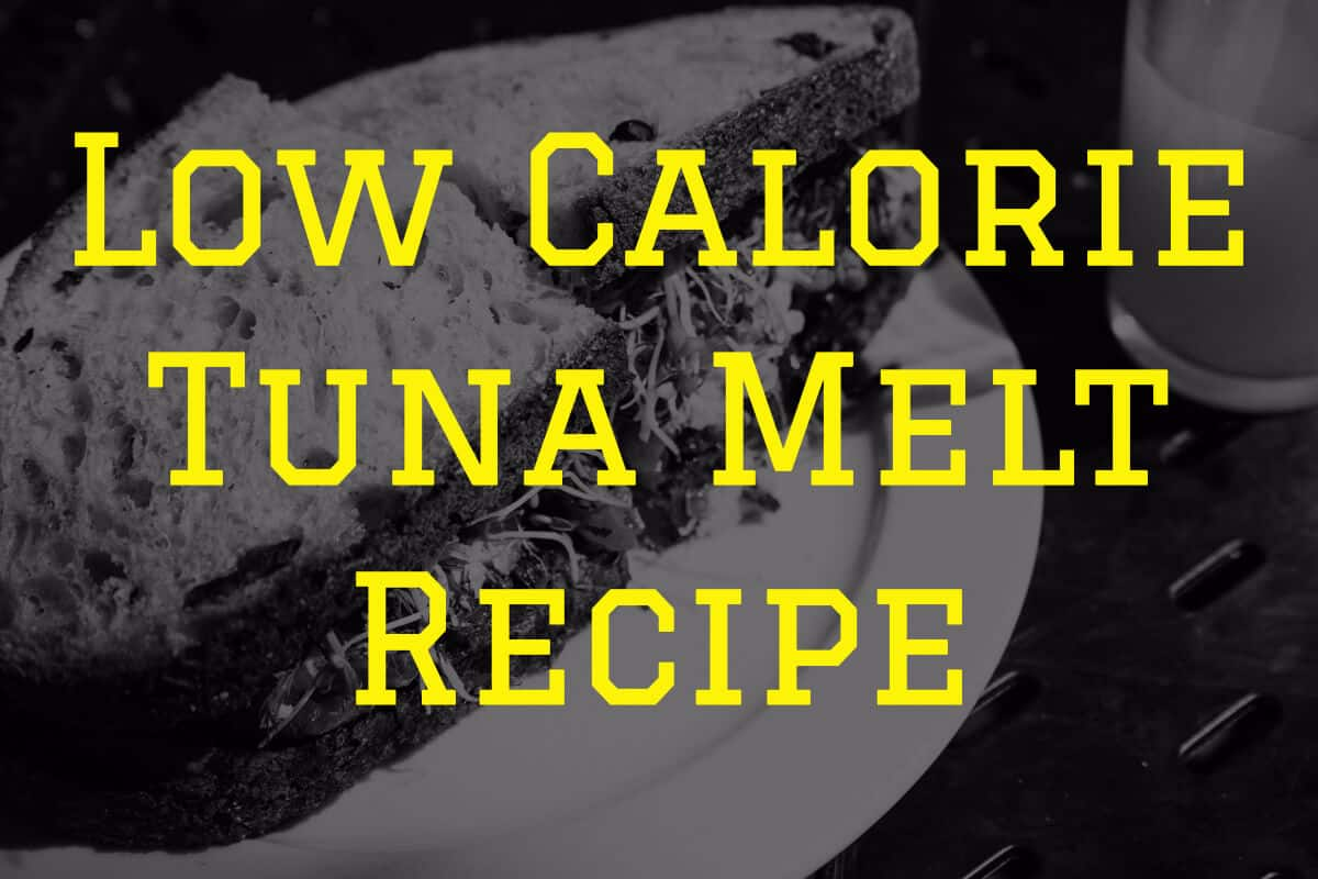 low calorie tuna melt recipe
