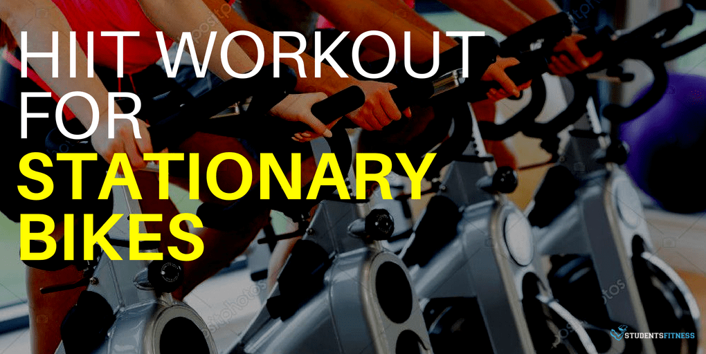 Intense HIIT Cardio Workout For Stationary Bikes
