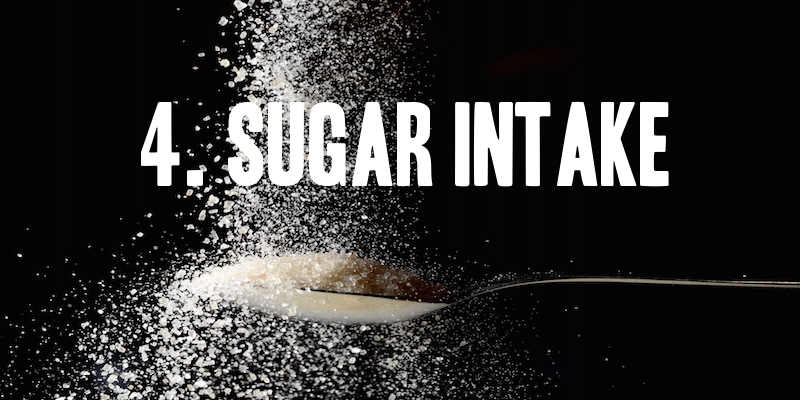 sugar intake to lose weight