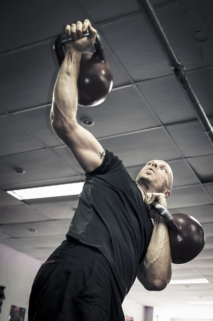 High Intensity Kettlebell Gym Workout