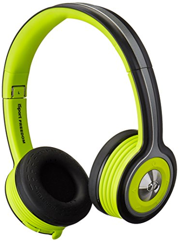 Monster iSport Freedom review waterproof cleanable sport gym on-ear headphones