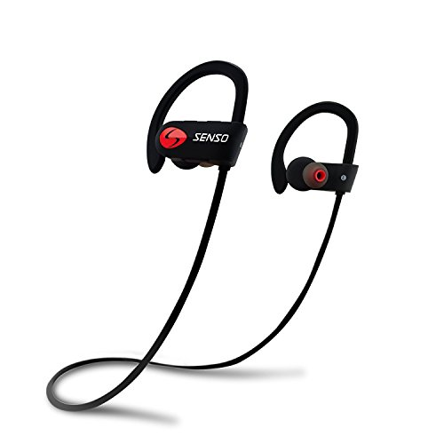 SENSO ActivBuds over ear hook review workout earbuds