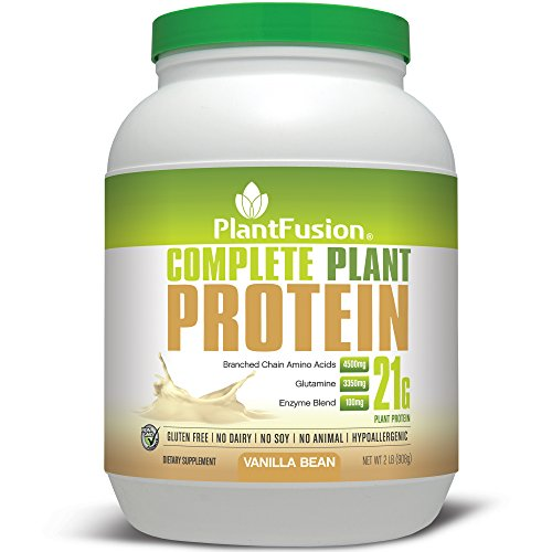 PlantFusion Complete Plant Protein digestible amino acids enzymes
