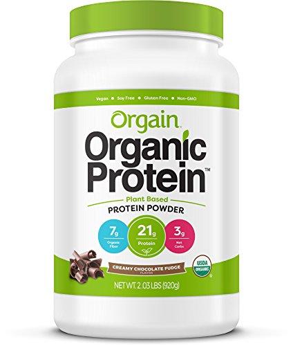 Orgain Organic Protein powder shake