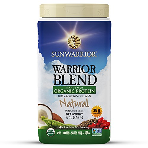 Sunwarrior Warrior Blend high value plant protein natural