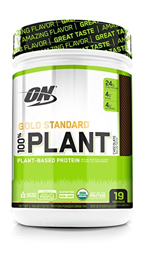 Optimum Nutrition Gold Standard 100% Plant Protein easy to mix shake