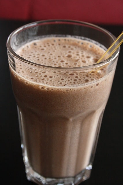 Chocolate milk after workout recovery carbs protein