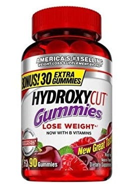 Hydroxycut gummies non-stimulating weight loss chewy chewable