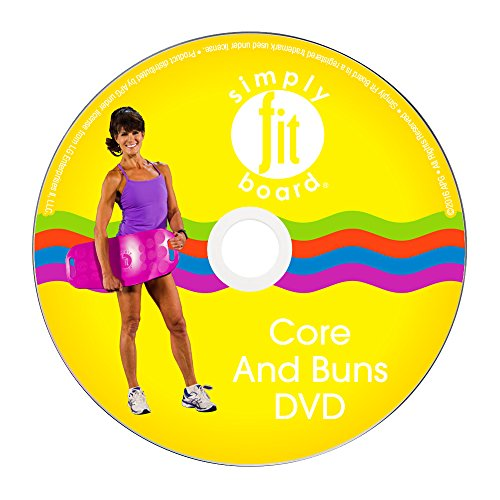simply fit board core and buns 21 day program low impact workout dvd