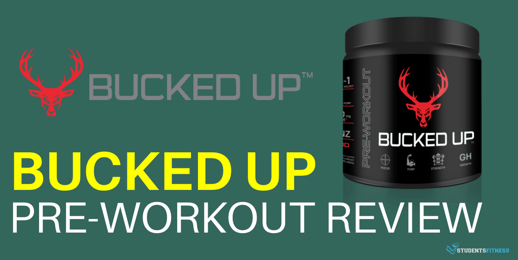 Bucked Up Pre-Workout Supplement Review SF