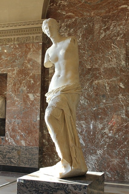 venus statue louvre weight loss through amputation