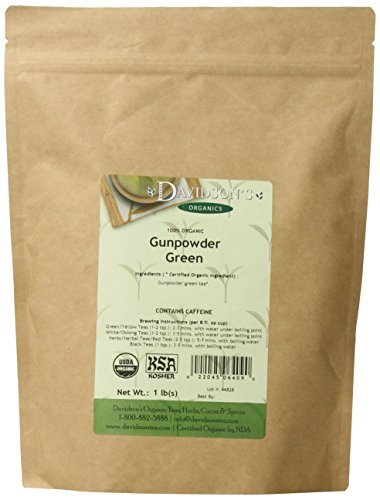 gunpowder green tea coffee bmr heart health low no calorie drink