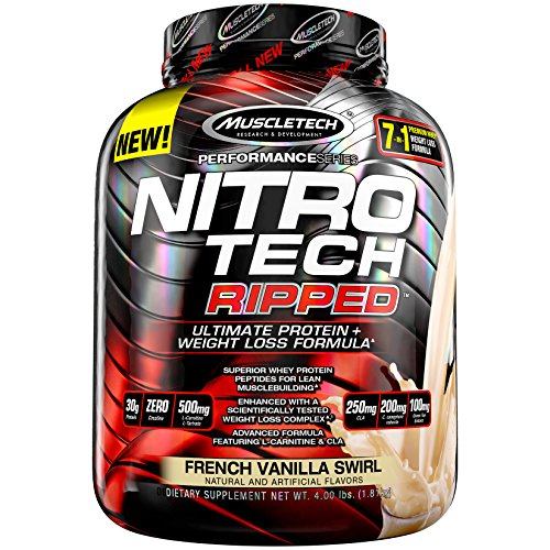 muscletech performance series nitro tech ripped ultimate protein weight loss review