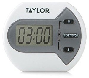 Taylor kitchen workout timer how long wait after eating to exercise