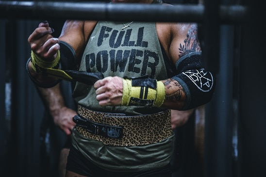 gym workout bulking muscle gains hard work