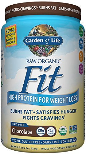 garden of life raw organic fit powder review