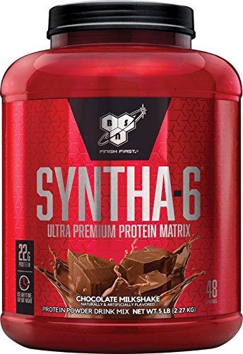 syntha-6 ultra premium protein matrix best tasting chocolate milkshake protein powder drink mix review