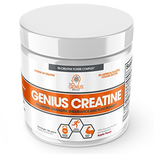 genius conjugated creatine strength endurance power with magnesium chelate