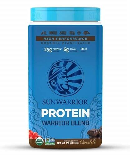 Sunwarrior warrior blend plant based protein review