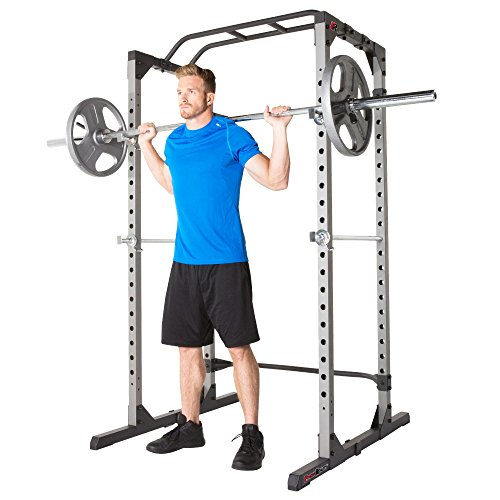 squat rack or power rack for safe and easy squats at home or the gym