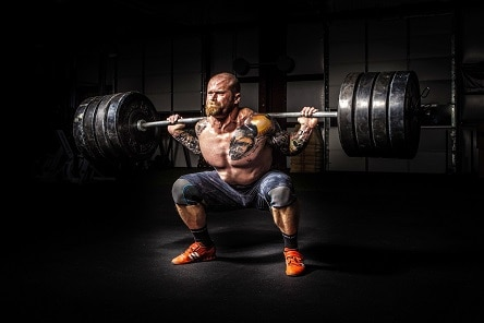 heavy lifts squats massive gains produce testosterone and human growth hormone