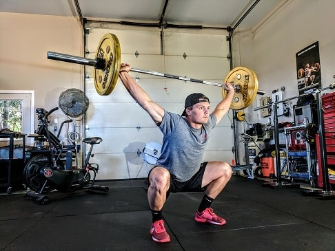 overhead squats open shoulders good for extension and mobility