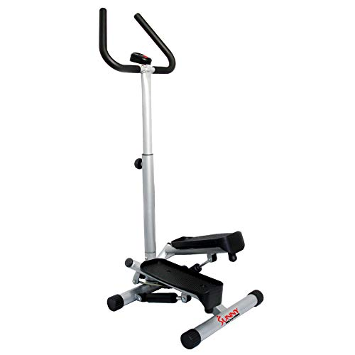 sunny health and fitness small compact out of the way cardio machine for dorms and small spaces