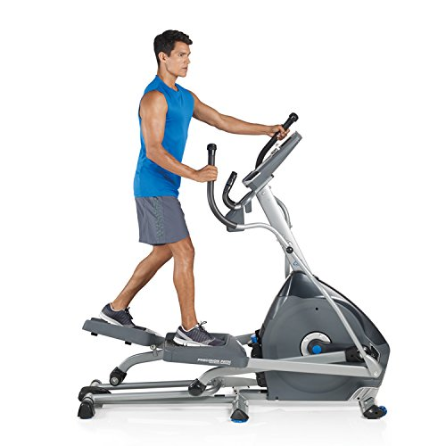 elliptical training machine full body workout low impact joints work up a sweat and lose weight