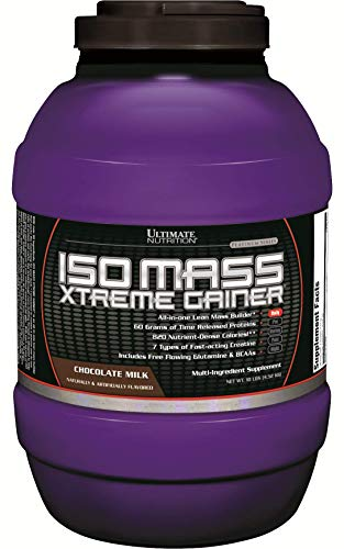 ultimate nutrition iso mass xtreme extreme gainer chocolate milk review