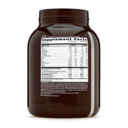 vegetarian vegan non-gmo protein weight gain supplement