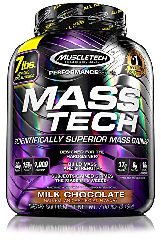 muscletech performance series mass tech scientifically superior mass gainer review
