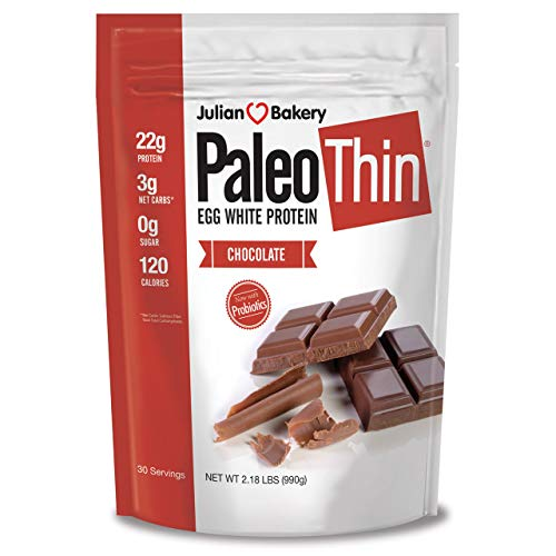 Julian Bakery Paleo Thin egg white protein powder sugar free health shake