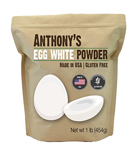 Anthony's egg white powder substitute supplement baking cooking smoothies