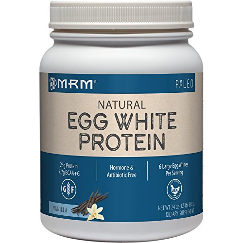 MRM natural egg white protein paleo powder for people with dairy allergies