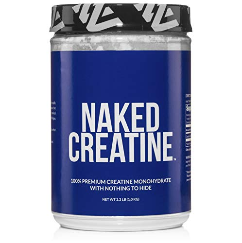 Naked Nutrition best creatine supplement monohydrate powder easy to take safe effective