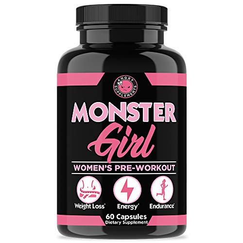 Monster Girl women's pre workout supplement pills capsules