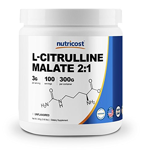 Why take l-citrulline malate before working out add to DIY preworkout recipe