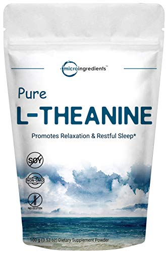 microingredients pure l-theanine relaxation smooth caffeine energy curve crash