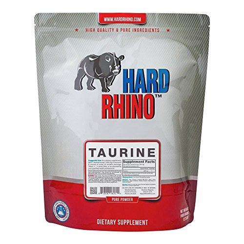 Hard Rhino taurine energy supplement ingredient good for pre workout
