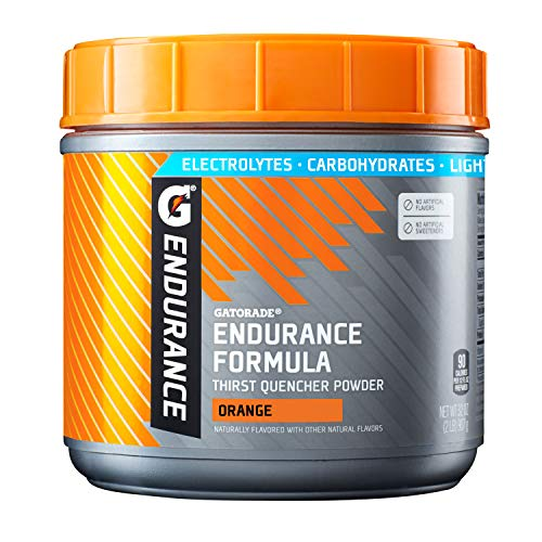 Gatorade endurance formula thirst quencher powder electrolytes carbs in pre workout
