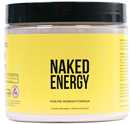 Naked Energy non gendered pure pre workout formula for men and women