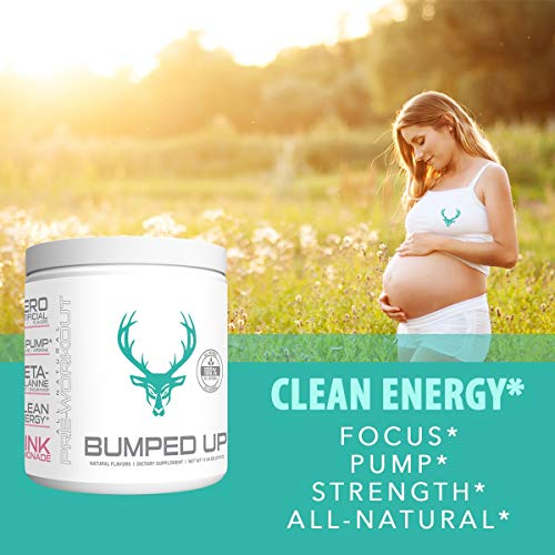 Bumped Up clean energy pregnancy low stimulant pre workout