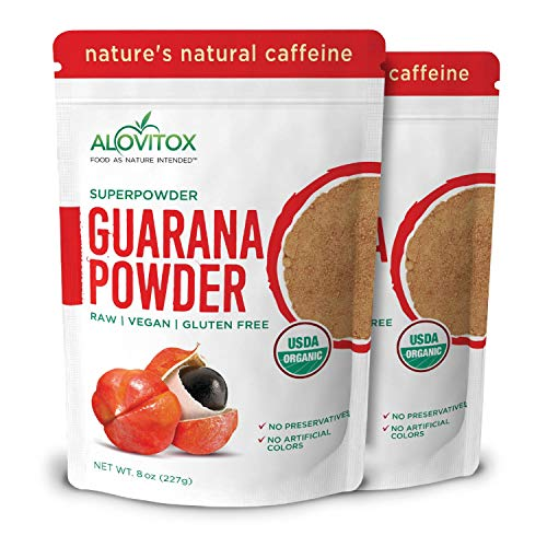 Guarana superfood powder natural caffeine buzz without crash supplement