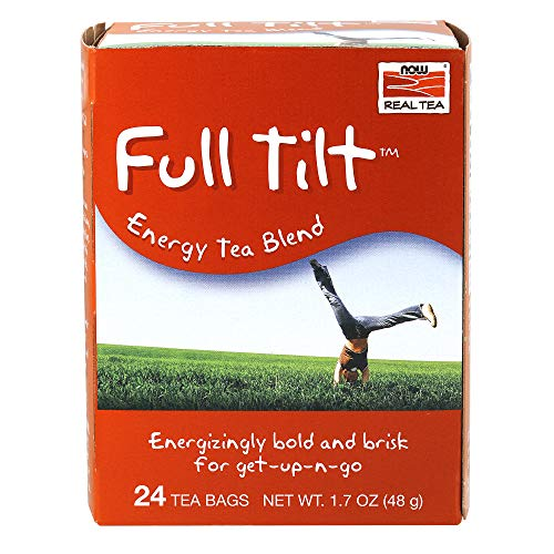 Full Tilt energy tea blend as pre workout supplement get up and go bold
