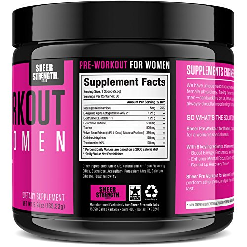 Best pre workout powder supplement for energy boost workout power