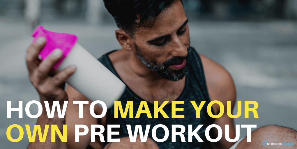 How to Make Your Own DIY Homemade Pre Workout