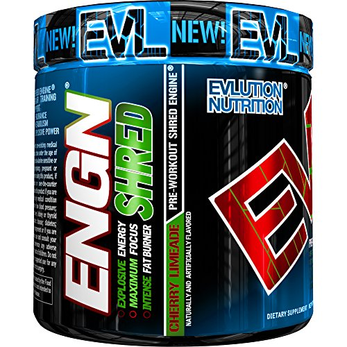 Evlution Nutrition ENGN Shred intense fat burner pre workout powder