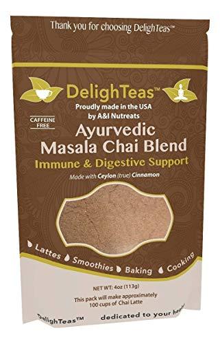 Masala chai powder blend improve protein shake flavor